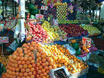 Сезонность фруктов в Египте